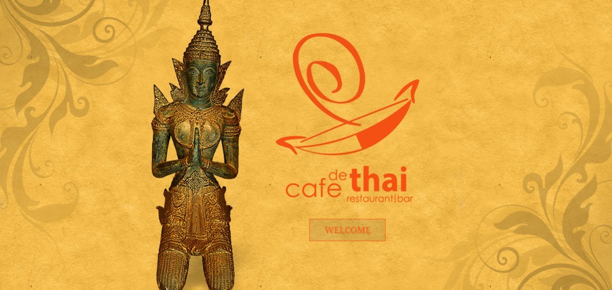 A website screenshot of cafedethaireno.net created by Credo Technology Group, LLC