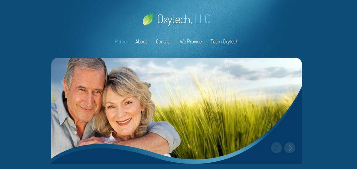 Web snip of OxytechReno.com