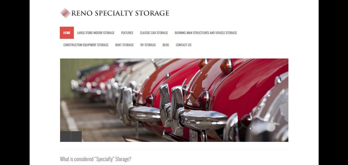 Reno Specialty Storage