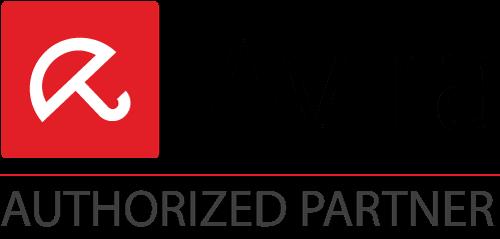 Avira Logo and Authorized Partner underneath.